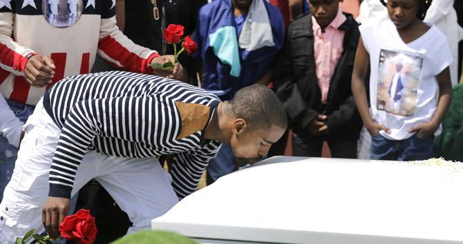 Freddie Gray burial