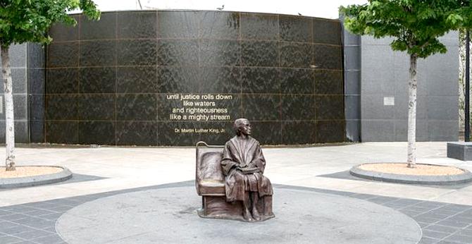 Rosa Parks Plaza 2015
