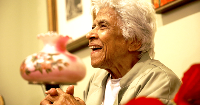 Queen of Creole Cuisine Leah Chase