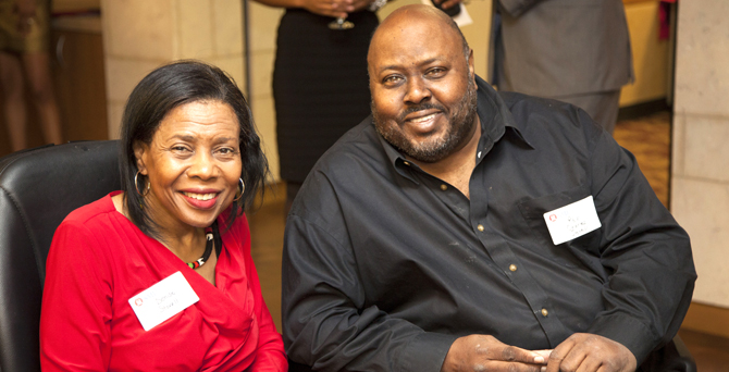 Denise and Charles Stovall