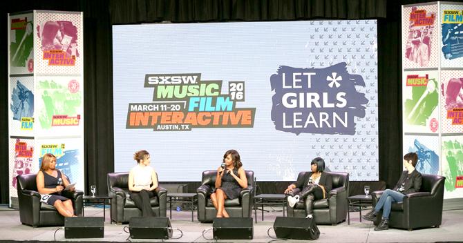 SXSW Let Girls Learn