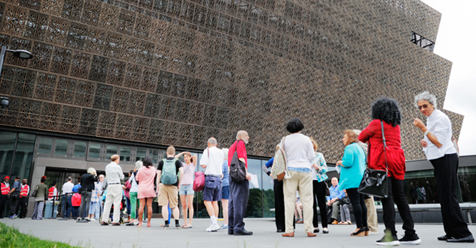 NMAAHC the hottest ticket 1