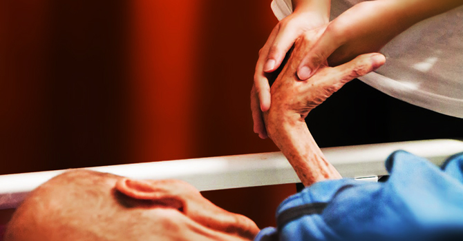 Dying elderly