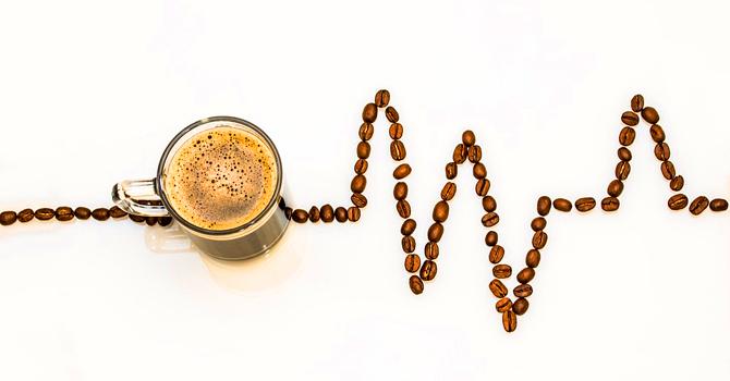 Health mug of coffee