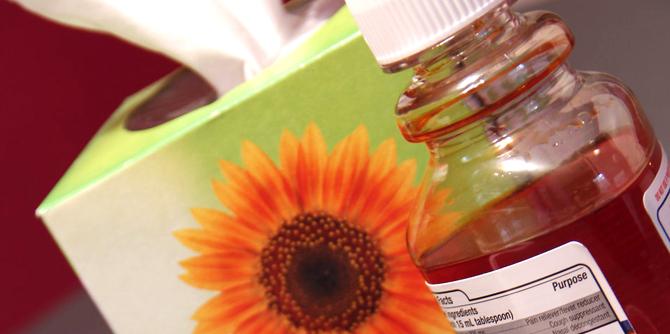 Tissues   Cold cough medicine