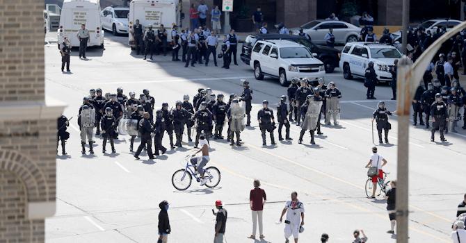 Ferguson protest 2017