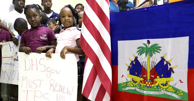 Haiti Immigration children