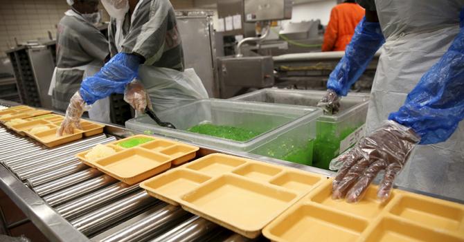 Texas Prison   Food service