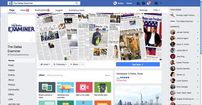 Facebook TDE