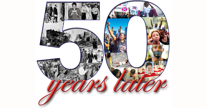 50 years later header