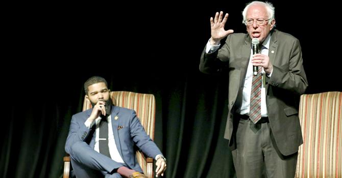 Bernice Sanders   Black vote