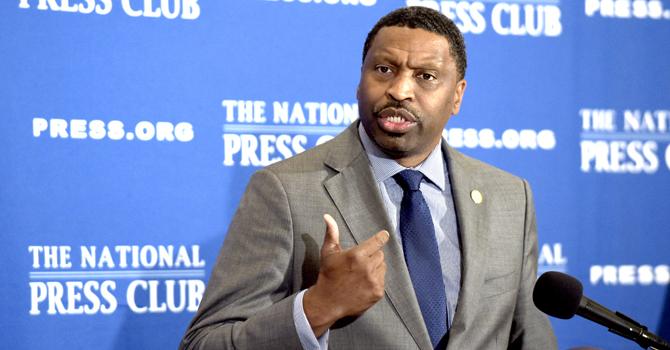 NAACP Pres Derrick Johnson