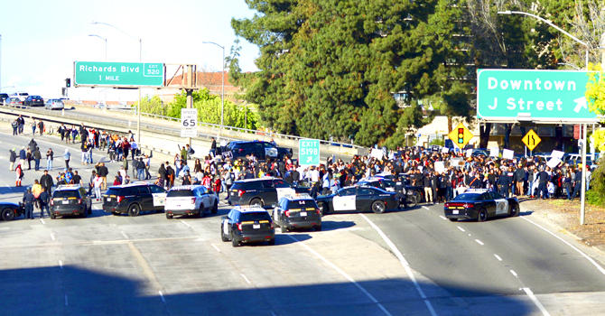 Stephon Clark Rally