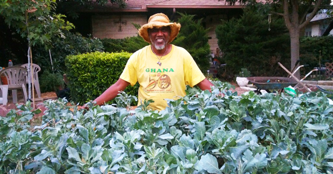 Prof Freedom   Sankofa Home Garden