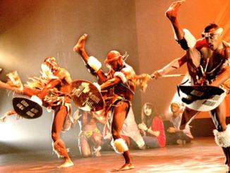 DanceAfrica step afrika zulu dance