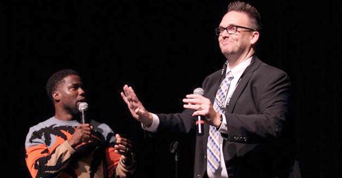 Kevin Hart and Booker T. principal Scott Rudes