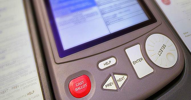 E Voting Machine