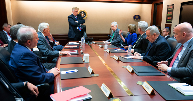 White House meeting with congressional leadership