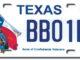 Confederate License Plate 2018