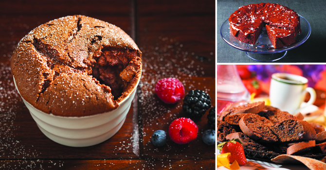 Better healthier baking with chocolate