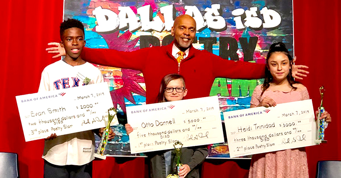 Dallas ISD spoken word scholarships