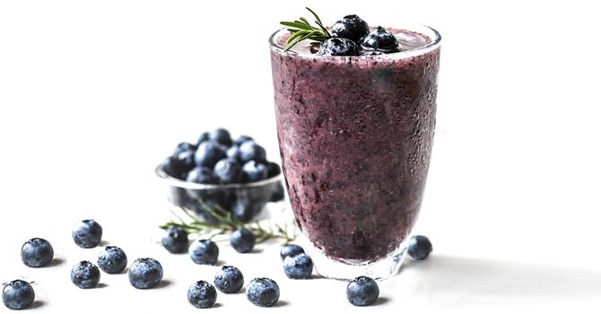 Blueberry Smoothie antioxidant
