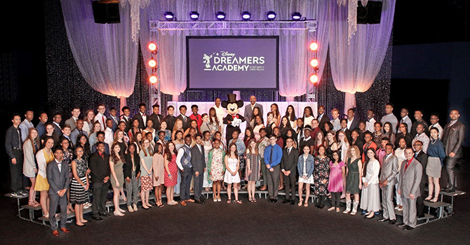 Disney Dreamers Academy Photo 2019