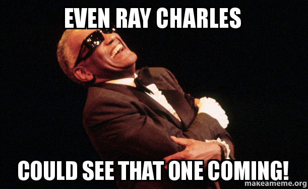 even ray charles