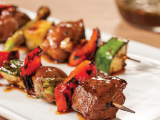 Thai Barbecue Duck Kebabs