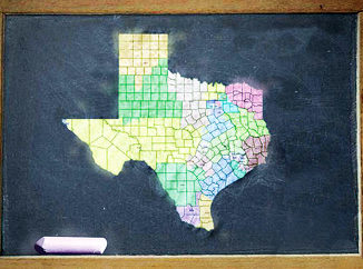 Texas political map 003