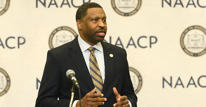 Texas NAACP Derrick Johnson