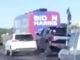 Biden camp bus