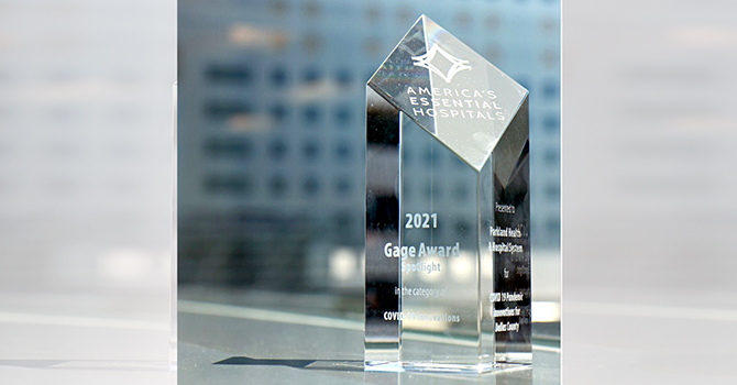 Parkland Gage Award