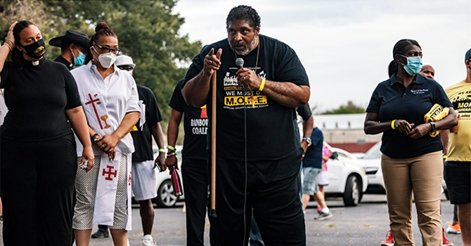 Invoking the spirit of Selma, Texas activists begin 27-mile march demanding federal action on voting rights