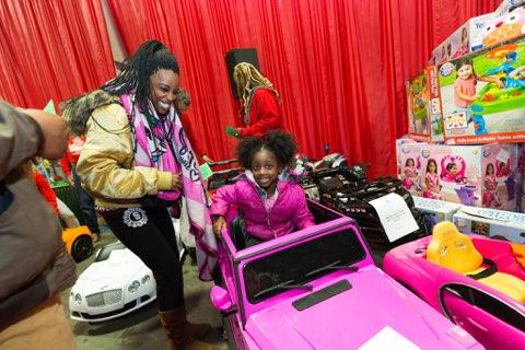 21st Annual S M Wright Foundation Christmas in the Park at Fair Park Automobile Building